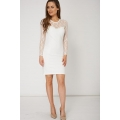 NEW WOMENS GORGEOUS BODYCON DRESS WITH LACE DETAILS SIZE 8 10 12 14 16