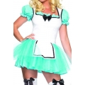 Adult Female Women Lady Enchanted Alice 1793 One Size Fancy Dress Costume Outfit