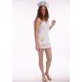 Adult Female Women Lovely Sailor with Hat hen party Fancy dress costume
