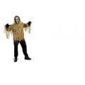 Adult Male FORUM Shrouded Skull Zombie Costume Halloween Fancy Dress Costume