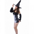 Ladies Women Seductive Sexy Witch Costume Medium 8-10 Costume Outfit Hen nigh