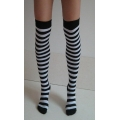 Ladies Women Adult Striped Stockings Green Outfit Hen night
