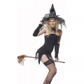 Ladies Women Glamorous Witch Costume Costume Outfit Hen nigh