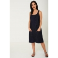 Brand New Ladies Women DENIM PINNY DRESS sizes 30