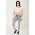 NEW Ladies women GREY WASH SKINNY JEANS EX BRAND sizes 6 8 10 12 14 16 18 20