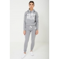 NEW Ladies women HARRY WILDE LOGO HOODIE IN GREY  sizes 8 10 12 14