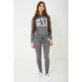 NEW Ladies women HARRY WILDE LOGO SWEATPANTS IN GREY sizes 8 10 12 14