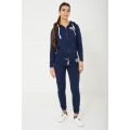 NEW Ladies women HARRY WILDE LOGO SWEATPANTS IN NAVY  sizes 8 10 12 14