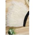 Cream Tulle Ruffle Petticoat