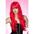 Soft Waves Long Red Wig