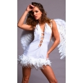 White Celeste Angel Dress and Wings