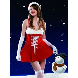 Sexy Santa Costume & Hat