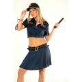 Cop Costume Skirted Set  Large