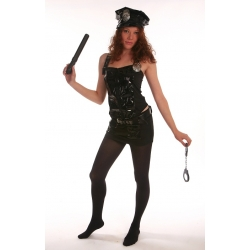 Bound to Please Police Woman Costume One Size