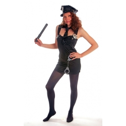 Sexy Police Woman Costume One Size 8/10