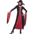Adult Halloween Classic Lady Vampire Costume 10-14