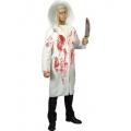 Doctor Diabolical Blood Splattered Coat Costume Halloween Fancy Dress Smiffys