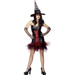 Adult Sexy Witch Halloween Costume Med 12-14