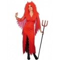 Adult Devil Lady Dress  Small 8-10