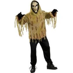 Adult Shrouded Skull Zombie Costume