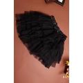 Black Tulle Ruffle Petticoat
