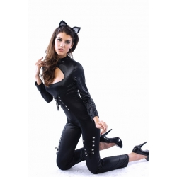 Catsuit with Ears Med 8 10