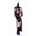 Black Widow Spider Gown + Hat