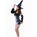 Seductive Sexy Witch Costume Large 10-12