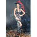Spider Witch Gown + Hat