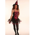 Ballerina Witch Costume 8 - 12