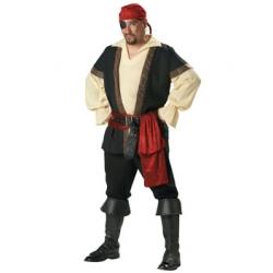 Luxury Men's Elite Pirate Costume - 2XL