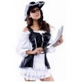 Luxury 4 Piece Pirate Maiden Costume  Large