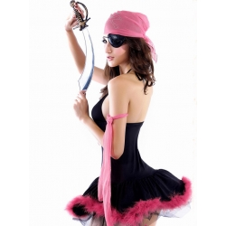 Sexy Pink Pirate Costume