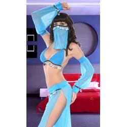 Blue Genie Costume