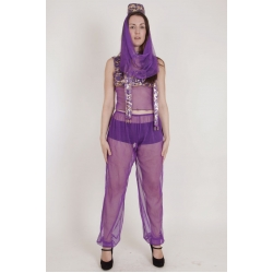 Genie Princess Costume Purple xxl
