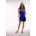 Sweetheart sailor dress with Hat 8 - 12